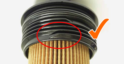 Σχήμα 3: Σωστό σπείρωμα βίδας