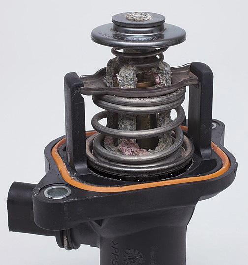 Σχήμα 1: Ορατά σημάδια διάβρωσης σε ελεγχόμενο (ηλεκτρονικά) θερμοστάτη (Τύπος TM).
