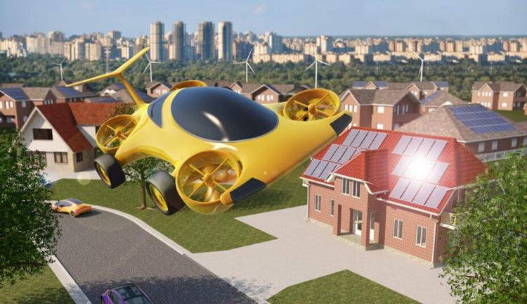 Η Airbus περνάει από τα αεροπλάνα στα ιπτάμενα αυτοκίνητα.