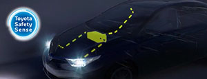 toyota safety sense lights