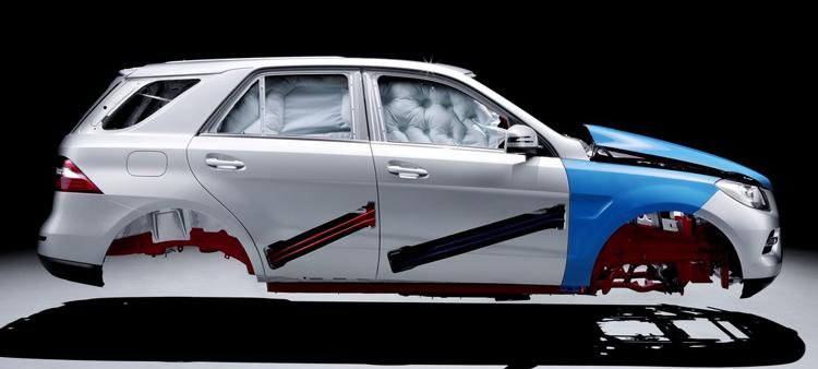 Κατασκευή αμαξώματος Mercedes-Benz M-class - MY 2012