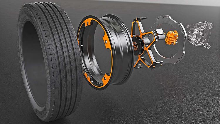 Νέο concept τροχών από την Continental