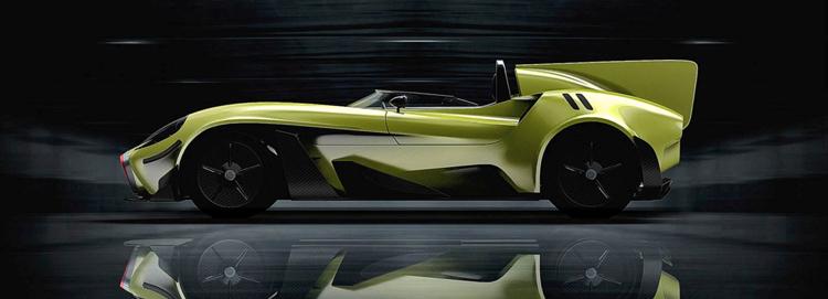 Η jannarelly εξηλεκτρικεύει το μινιμαλιστικό design-X1 roadster