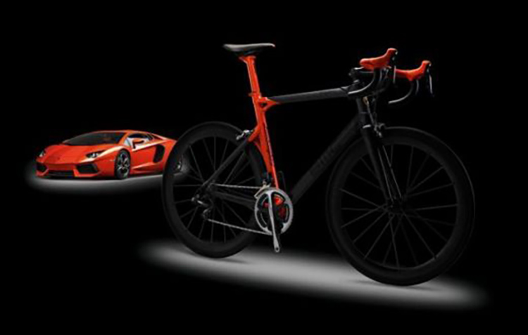 BMC Lamborghini Limited Edition Road Bike