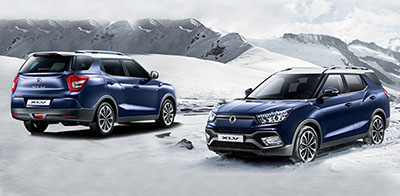 To SsangYong XLV ιδανικό για car sharing