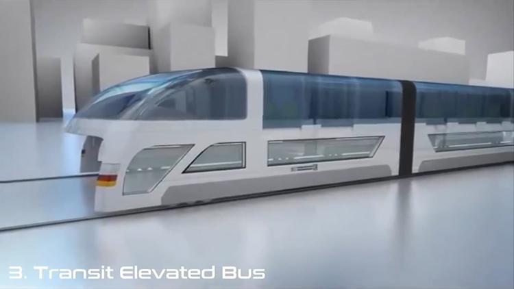 ransit Elevated λεωφορείο