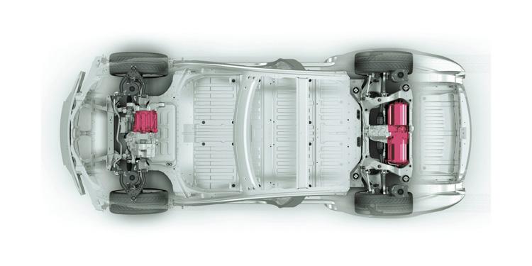 Tesla Model S P90D Σασί και μοτέρ
