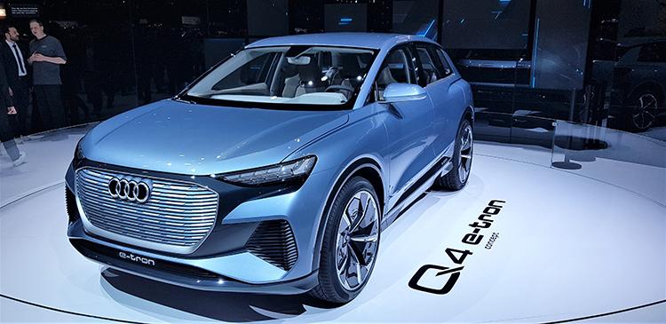 10. Q4 e-tron από την Audi