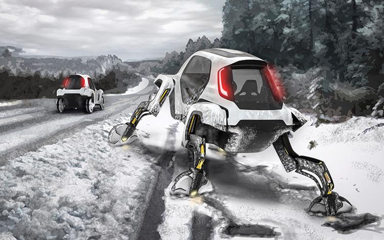 Hyundai Elevate: Concept αυτοκινήτου που περπατάει